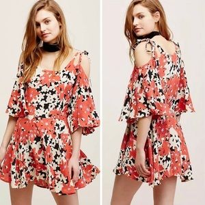 Free People FP One floral Lucina dress